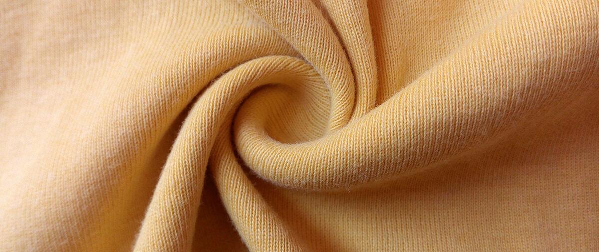 Jersey Fabric mustard yellow