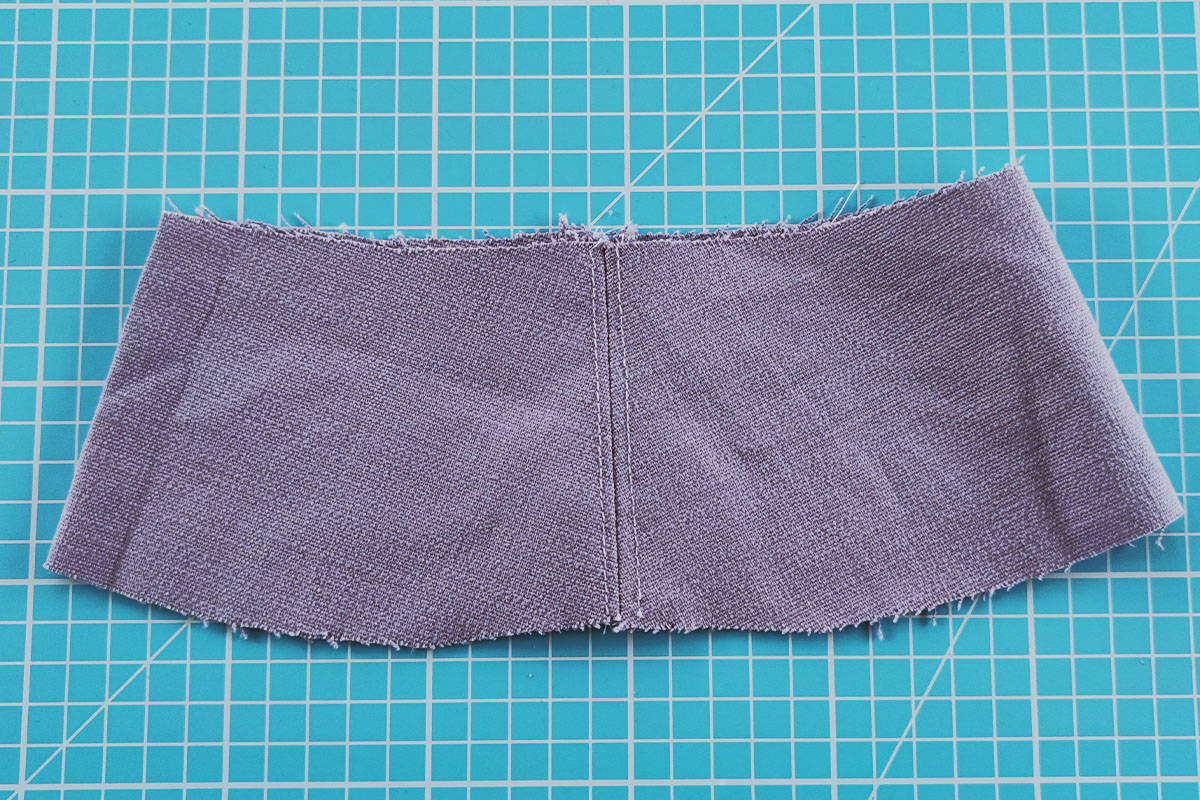 Sewing instructions for a bucket hat - step 4