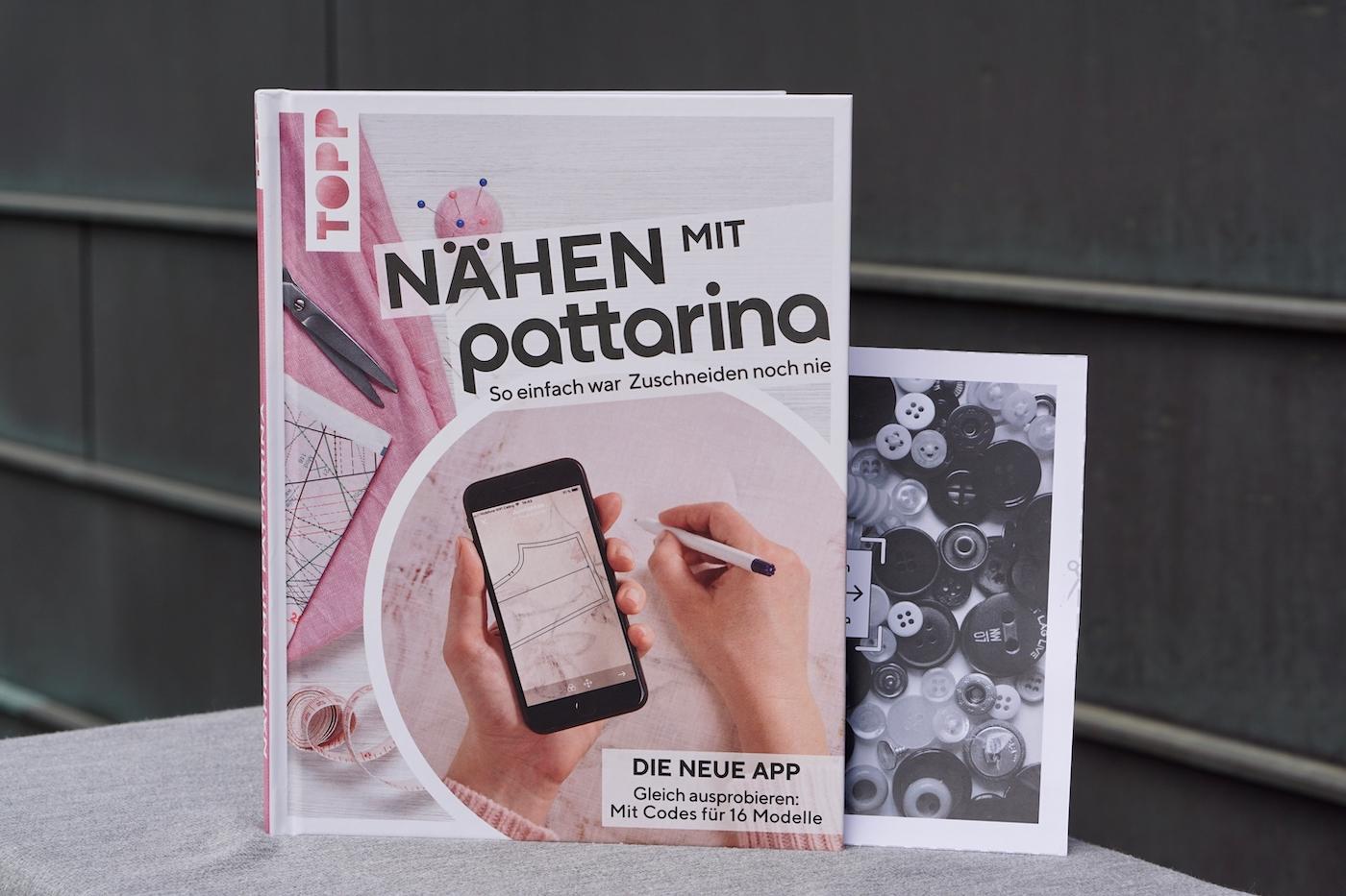 Pattarina Buch mit Anker – Schnittmuster mit Augmented Reality übertragen