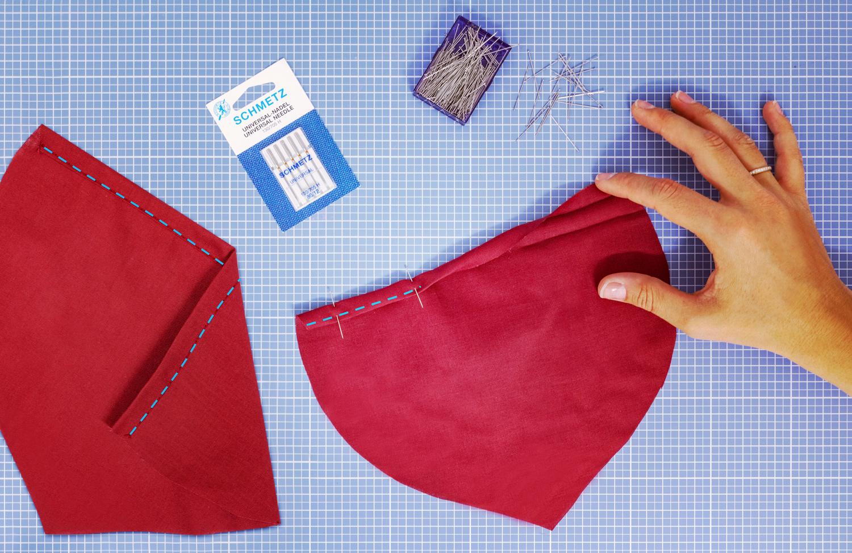 Trend-Rüben Tasche säumen
